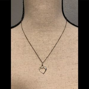 Jewelry - Canadian sterling silver heart necklace